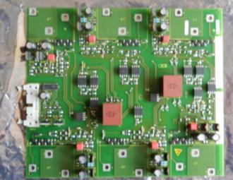 Inverter 70 series 90kw driver board 6SE7031-8EF84-1JC1 trigger board bottom board