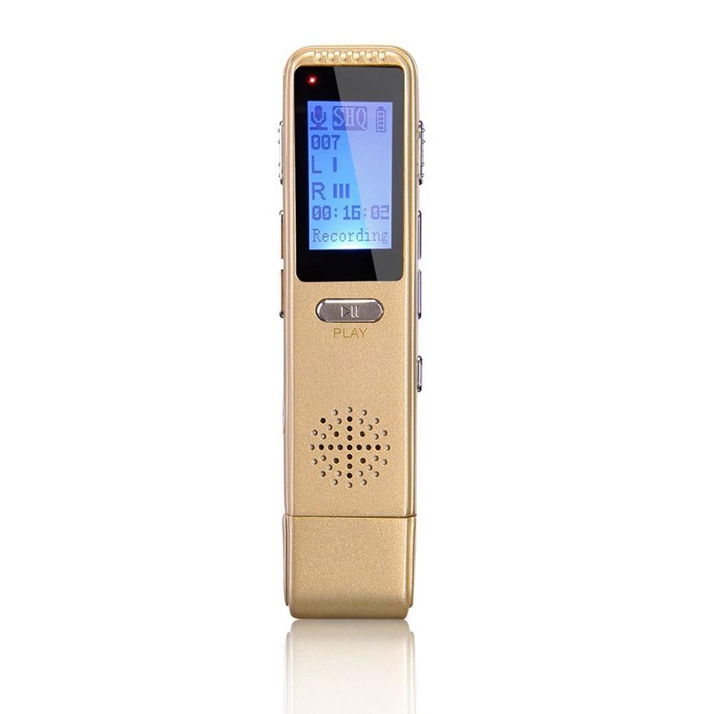 Digital Voice Recorder Unparteiisch Verlustfreie Sound Audio Für Vorträge Tagungen Aktiviert Usb Lade Voice Recorder Vorträge Noise Reduktion Digitale Mp3 Player