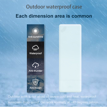 Waterproof outdoor 4G CPE router wireless bridge outdoor AP 4G LTE CPE mobile router 300Mbps for IP camera / ranch / orchard