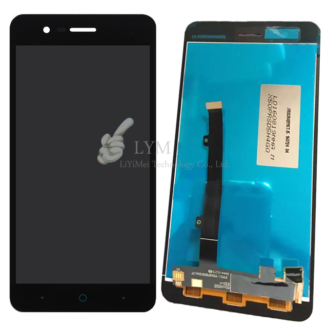 "Negro lcd + tp para zte blade a510 ba510 ba510c 5.0 ""lcd display + touch screen reemplazo asamblea del digitizador envío libre + herramientas"