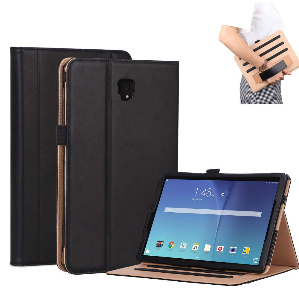 For Samsung Galaxy Tab S4 T830 T835 SM-T830 SM-T835 Tablet Case 10.5 Flip Leather Portable Business Soft Luxury Tabs4 Cover