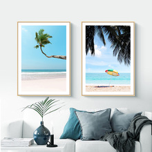 Nordic poster landscape prints printed painting canvas seascape for living room wall decoration maison unframed