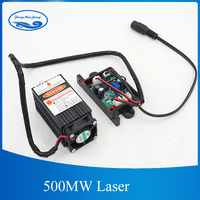 500mw 405NM focusing blue purple laser module engraving,with TTL control laser tube diode+protective googles