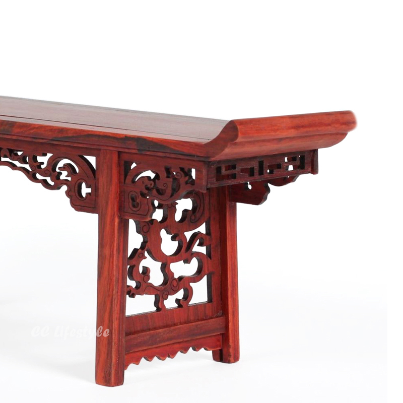 Miniature Furniture Mahogany Rosewood Table Furniture Chinese Retro  Miniature Version Toys Furniture Decoration Room Decoration In Statues U0026  Sculptures From ...