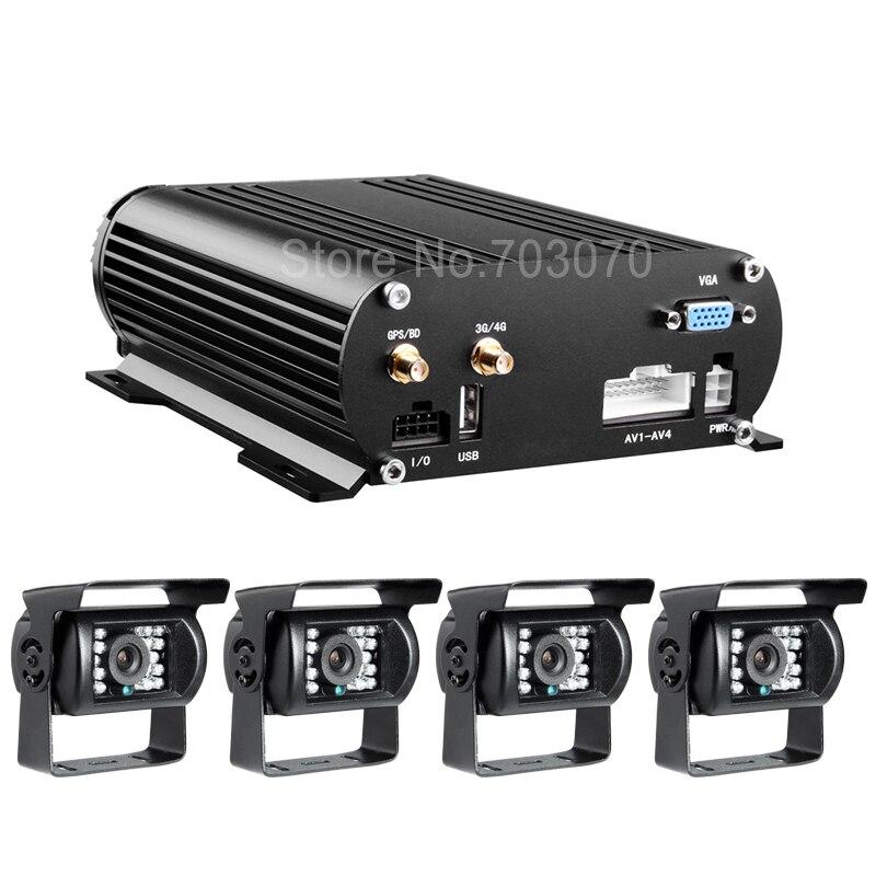 Automjeti 4CH Hard Disk Automjet DVr Online 3G Regjistrues video HDD - Siguria dhe mbrojtja - Foto 3