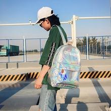 New Women Hologram Backpack