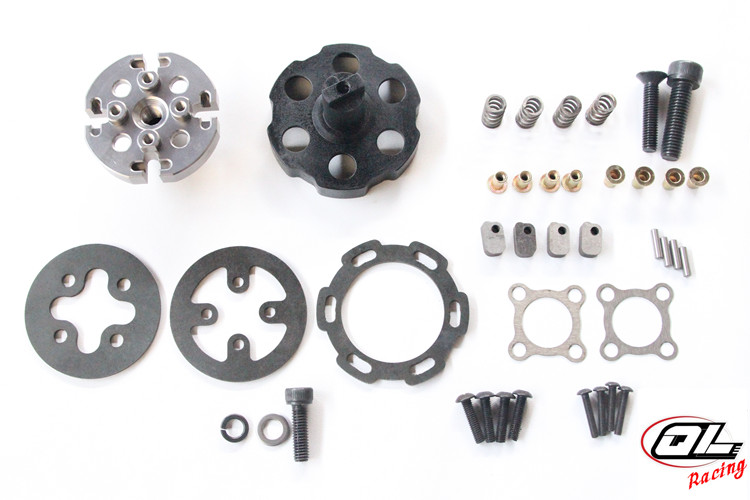 RC centrifugal force clutch competitive for LOSI DBXL 5IVE T MCD RR5 XS 5 XCR 900 1000 1200 HPI BAJA