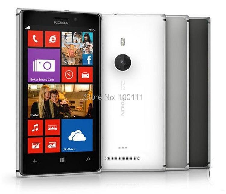 Цена за Телефон Nokia Lumia 925, сотовый разблокированный окна сенсорный экран отремонтированный 4,5 '' 8 mp wi fi 16 гб