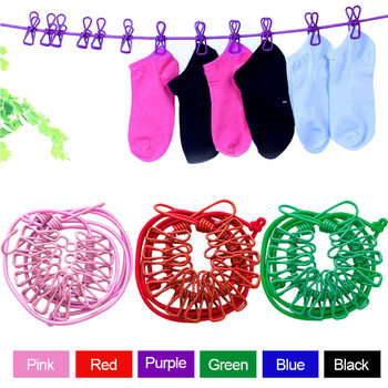 Portable Collapsible Elastic Clothes lines