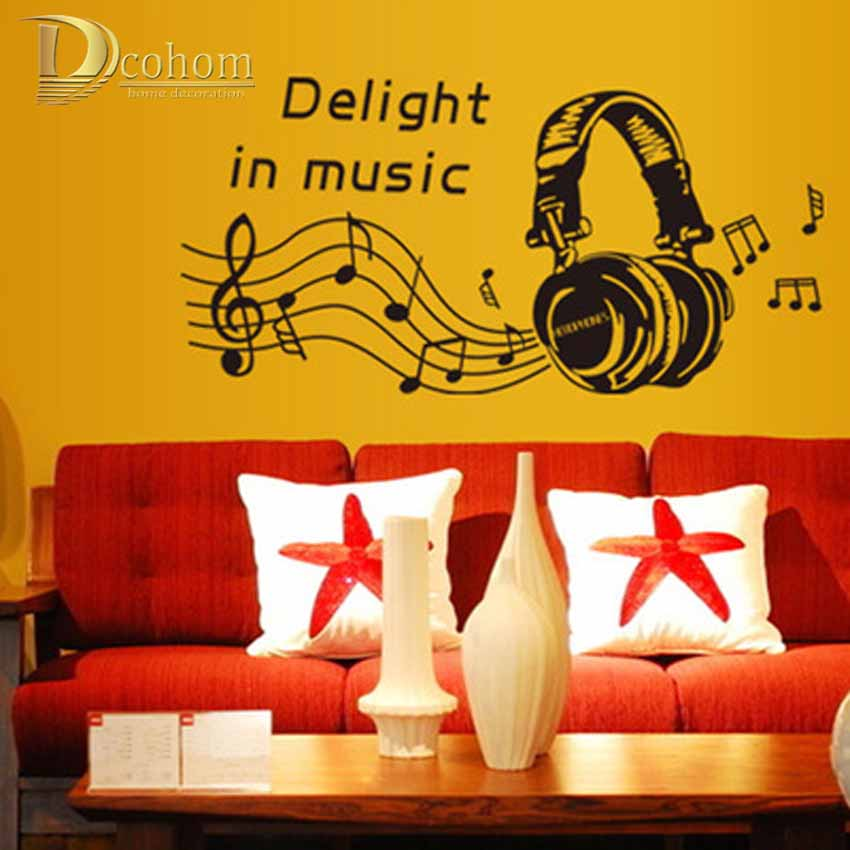 Awesome Wall Decor Music Theme Crest - Wall Art Design ...