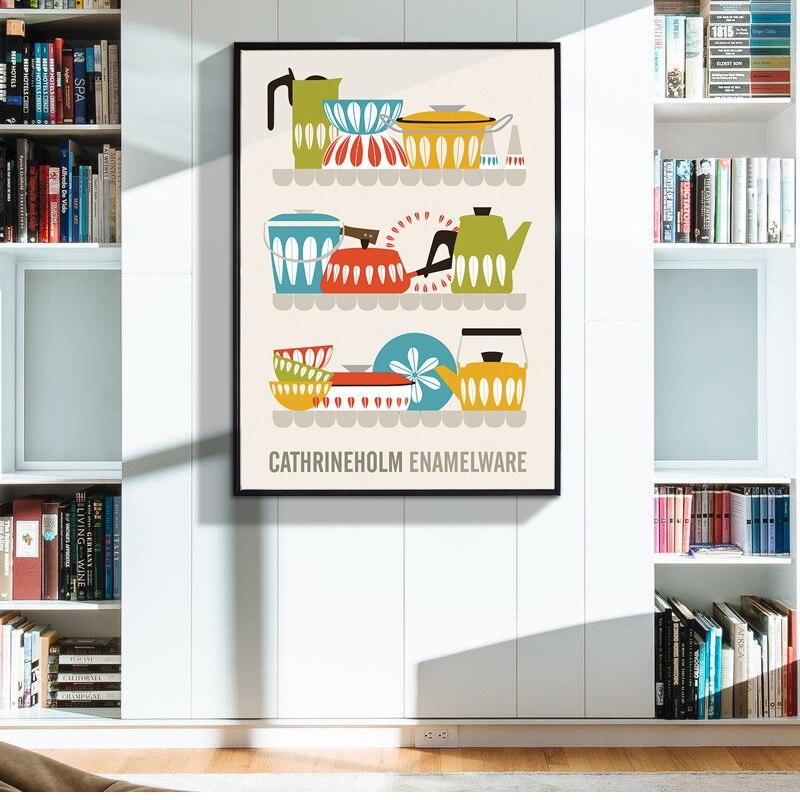 tetera canvas art print poster pintura imgenes de pared para la decoracin del hogar