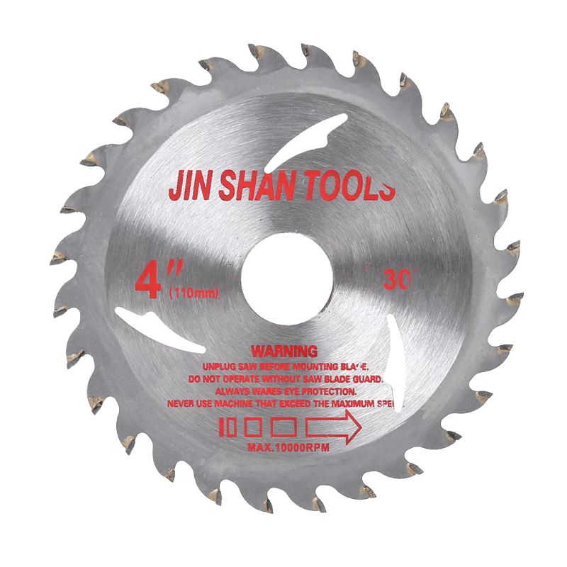 Durable 105mm Circular Saw Blade Disc Wood Cutting Tool Bore Diameter 20mm For Rotary Tool Woodworking