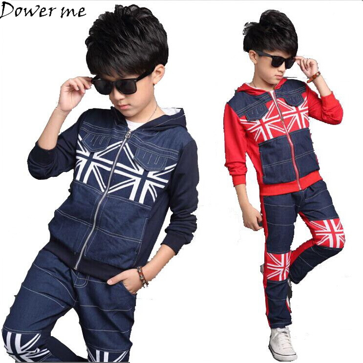 Boys Clothes Autumn Children Clothing Set Kids Tracksuit for Spring Boys Sports Suit Boy Coat Jackets Pants 2Pcs Sets