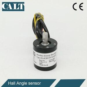 Магнитный датчик Холла CALT 28mmouter 6 мм, 5 В, 10, 12 бит, 4096 разрешение, угол измерения, полный Тип SSI выход HAE28