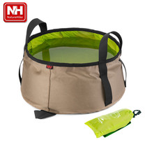 Naturehike NH 10L capacity folding water basin outdoor sports camping portable ultra light foldable water carrier bucket
