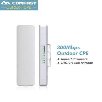 2PCS! Comfast Wireless outdoor CPE WIFI signal booster Amplifier wifi 14dBi Antenna wi fi access point CPEantenna Nanostation