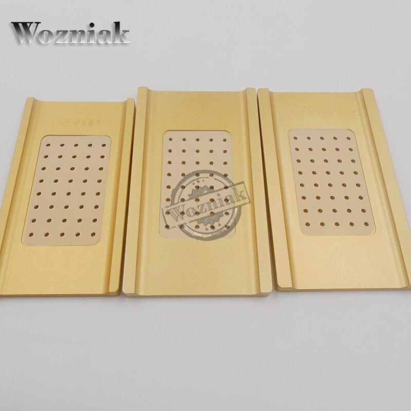 bilder für Wozniak hohe präzision für samsung s6 edge s7 edge lcd separate form form für lcd refurbished reparatur