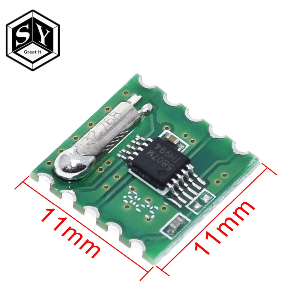 2PCS AR1010 FM Radio Receiver Module 76-108MHz Replace TEA5767 for Arduino
