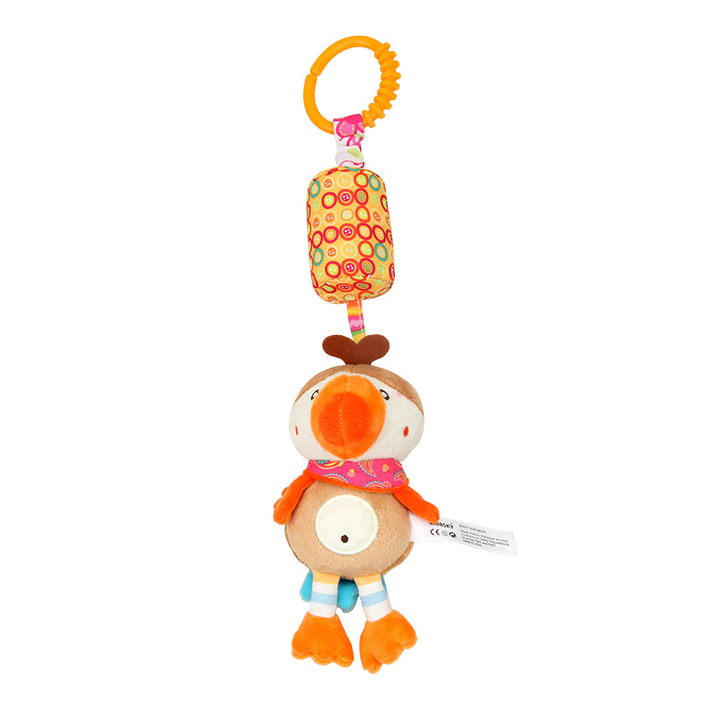6 styles Baby Crib Rattles Plush Toys Soft Rattles Pram Rattle Toys Hanging Rattle For Stroller Newborn Bed Pendant Bell Toy