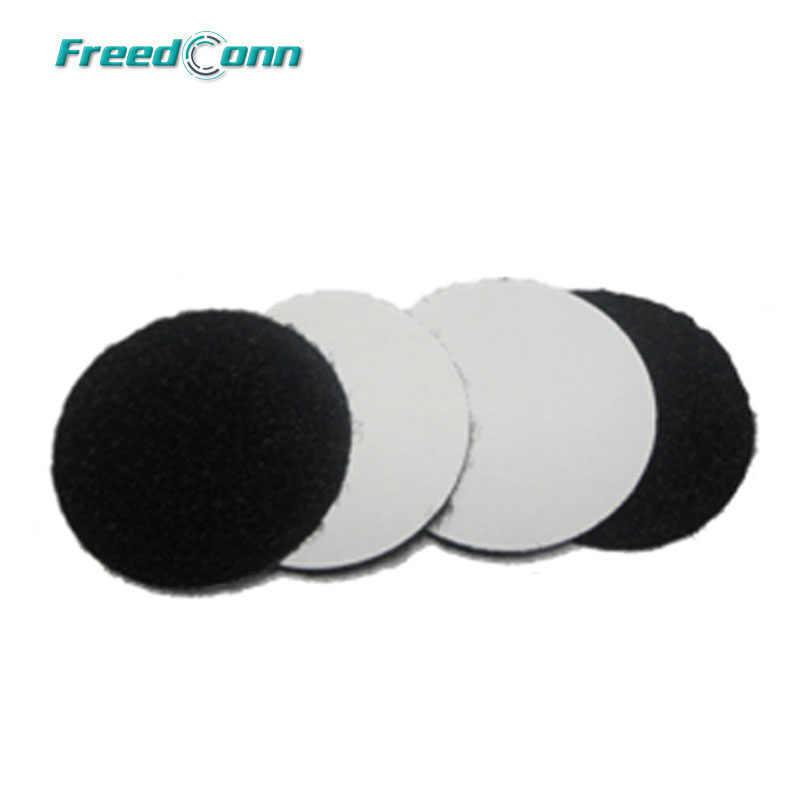 4 pièces Feutré Adhésif Écouteurs Tampons pour T-COMSC T-COMVB COLO FDCVB Oreille Haut-Parleur et Microphone