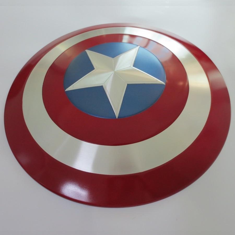Full Alloy Metal Civil War 1/1 Captain America Shield 1:1 Replica Cosplay Model Figure