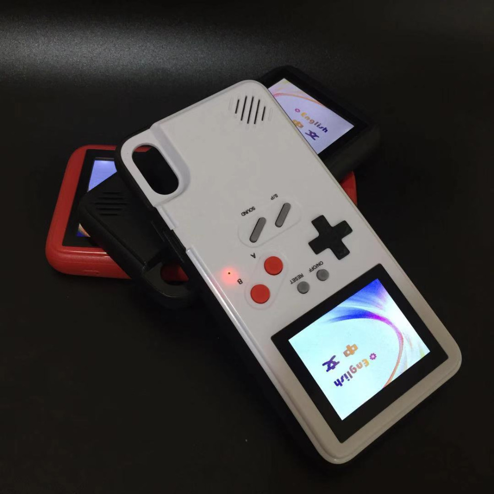 Full color disply Xs Max Xr Game cases for iphone Xs Max Xr X 6 6s 7 8 plus X Classic Retro Game cover for iphone 6 6s 7 8 Coque
