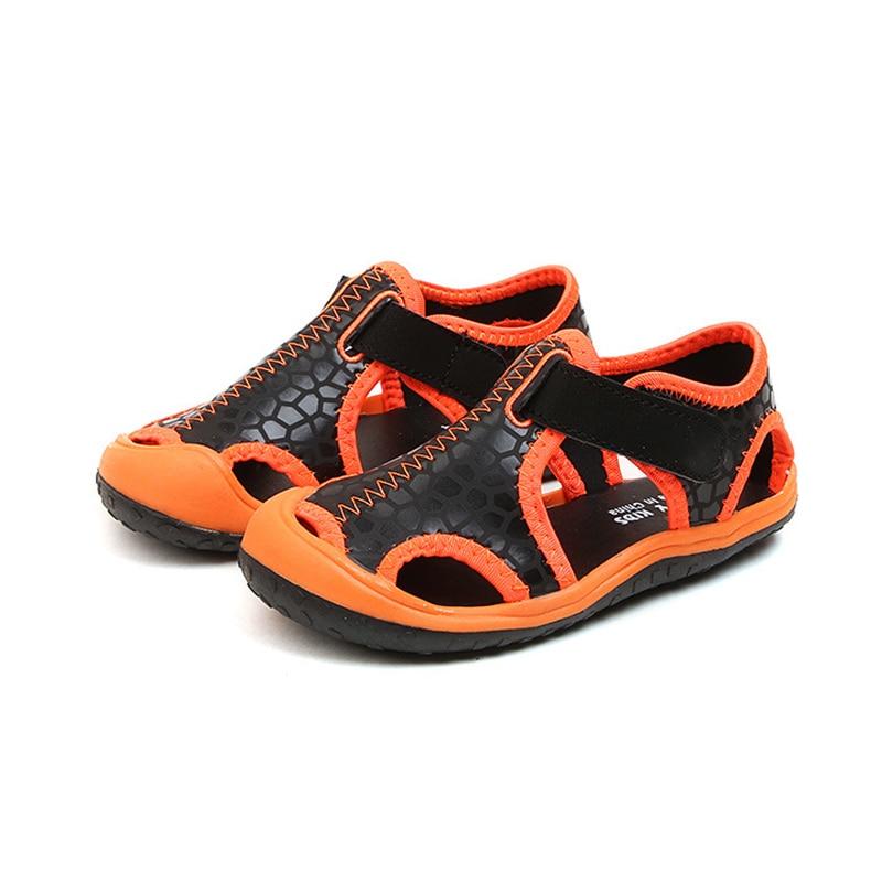 Zomer kinderen sandalen voor jongens nieuwe aankomst lederen sandalen - Kinderschoenen - Foto 2