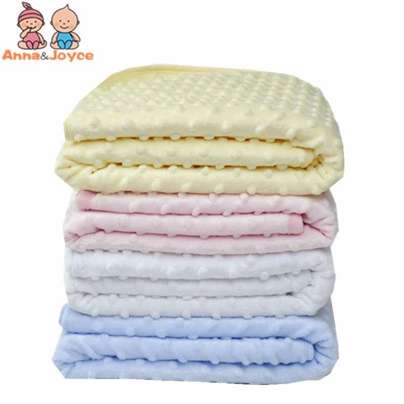 Newborn Baby Sleeping Blanket Fleece Blanket & Swaddling Bedding Set Infant Products 100X76cm