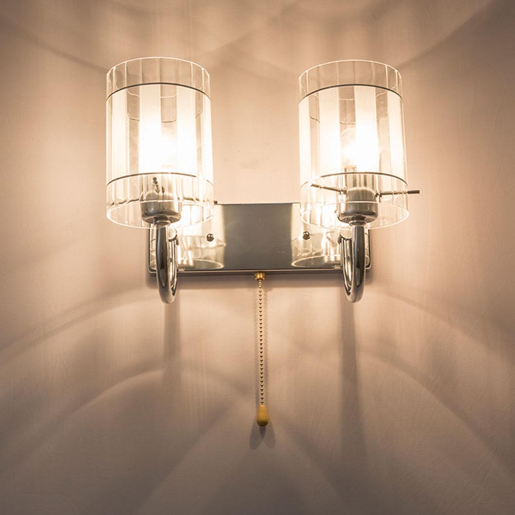 HGhomeart Bedside Lamp Wall Mounted Bedside Lamps Luminaria Wall Sconce 110V-220V E27 Led Wall Light Indoor Lighting Wall Lamps стоимость