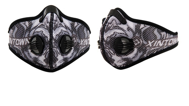 cycling face shield -