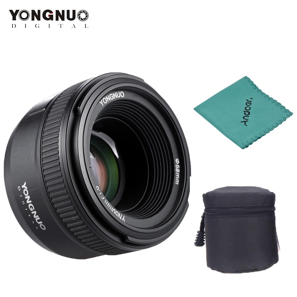 Yongnuo YN50mm F1 8 AF MF Lens YN 50mm Auto Focus Lens for Nikon D800 D300