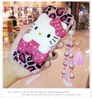 For OPPO R7 R7S R9 R9S R11 R11s R15 Plus A3 A37 A39 A57 A59 A71 A77 A83 F1 F1s F3 F5 F7 F9 Hello Kitty full Rhinestone Case