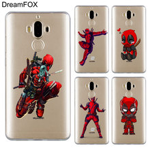 DREAMFOX M209 Deadpool Soft TPU Silicone Cover Case For Huawei Mate 8 9 10 20 30 Lite Pro