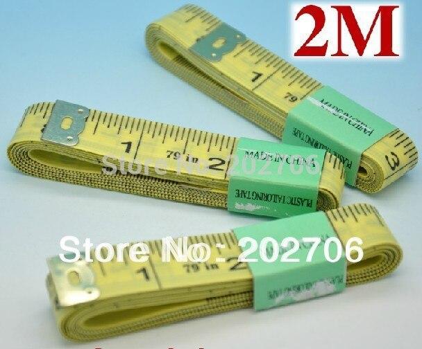 2 м мерная лента 200 см Васит Лента Портной лента подарочная лента для тела 100 шт./партия