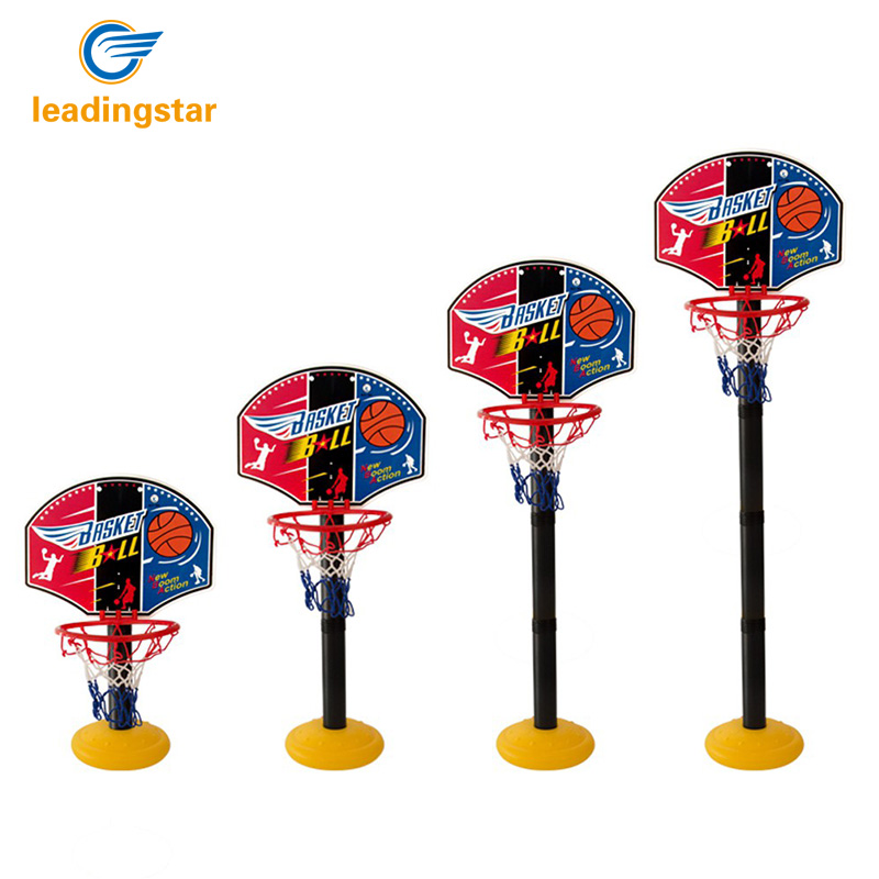 LeadingStar 1.15M Children Indoor and Outdoor Portable Adjustable Basketball Backboard S ...