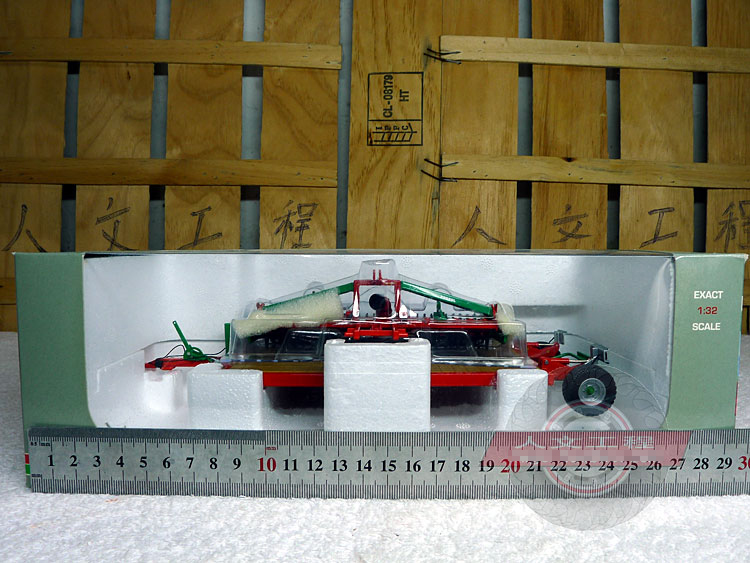 ФОТО rare RPM Prosol Scooter + Cultivated Land Model Set Agricultural machinery model UH 1:32 Alloy Collection Model