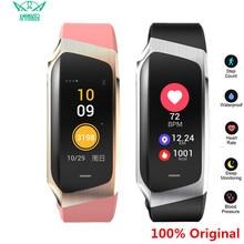 AMYNIKEER E18 Smart Armband Herz Rate Monitor Fitness Tracker IP67 Wasserdichte Sport Uhr für Android und IOS Smart Uhr Männer