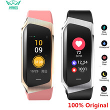 AMYNIKEER E18 Smart Bracelet Heart Rate Monitor Fitness Tracker IP67 Waterproof Sports Watch for Android and IOS Smart Watch Men