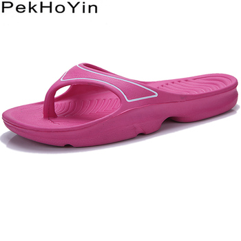 Light Weight Trend Fashion Thick Sole Women Slippers Shoes Summer Water Female Sandals Flip Flops Beach
