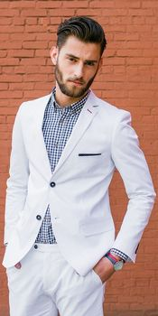 Latest Coat Pant Design Ivory White Beach Men Suit Slim Fit 2 Piece Groom Tuxedo Custom Prom Blazer Terno Masculino Jacket+Pants