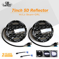 CO LIGHT Led Headlight 7 Inch 75w 35w H4 H13 Hi Lo Beam The Daytime Running