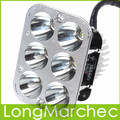 DC 12V 18W 6 White Light LED Motorcycle Lights Energy Saving Headlight Front Headlamp Universal For All Types
