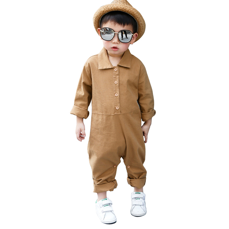 2021 new spring summer boys jumpsuit rompers age for 1-6 yrs little boys overalls pants baby boys school style children clothing