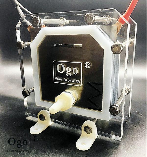 새로운 ogo hho 발전기 더 적은 소비 효율 13 플레이트 ce fcc rohs 인증서