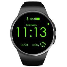 KW18สมาร์ทนาฬิกาK8 S Mart W Atchสำหรับip hone a ndroid h eart rate monitorซิมนาฬิกาโทรศัพท์MP3/Mp4นาฬิกาผู้หญิงอุปกรณ์สวมใส่