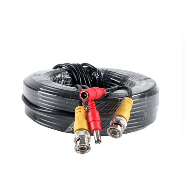 AHD Camera Cable 5M/10M/15M/20M/30M/40M CCTV Video Output BNC Cable for AHD TVI CVI Analog System DVR Kit Accessories