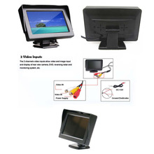 4.3 inch Car Monitor Foldable Color Car Reverse Rearview