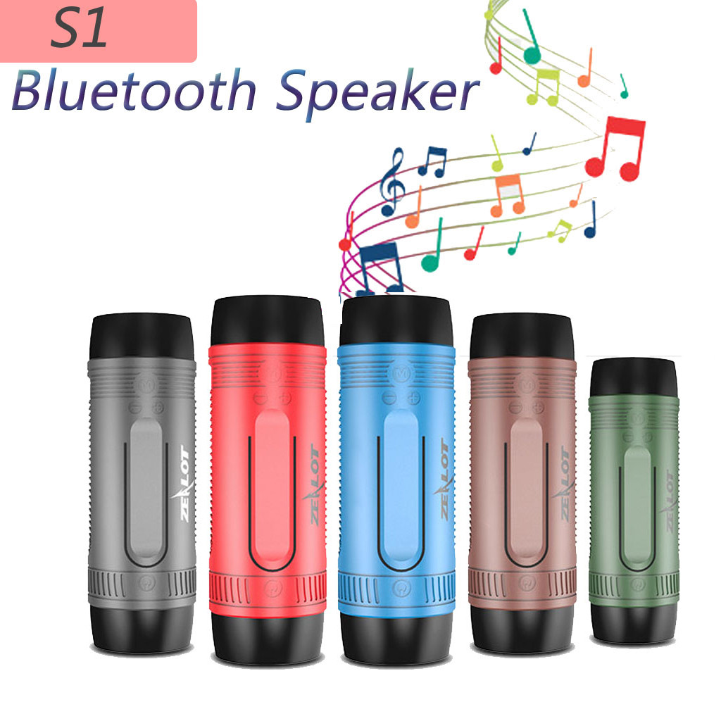 Zealot S1 Bluetooth Bicycle Speaker Bike Cycling Portable Speakers Waterproof For All Kinds Of Mainstream Mobile Phones