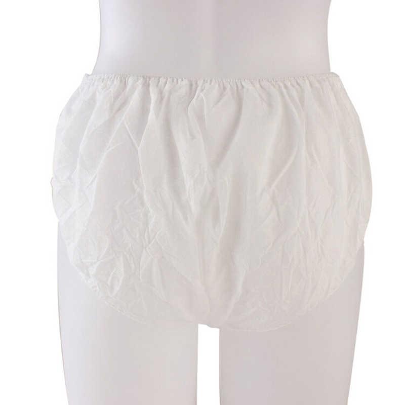 ผู้หญิงผู้ชายสั้นไม่ทอชุดชั้นในทำความสะอาด Intimate ตั้งครรภ์ฆ่าเชื้อก่อนคลอดกระดาษกางเกงสำหรับเดินทาง