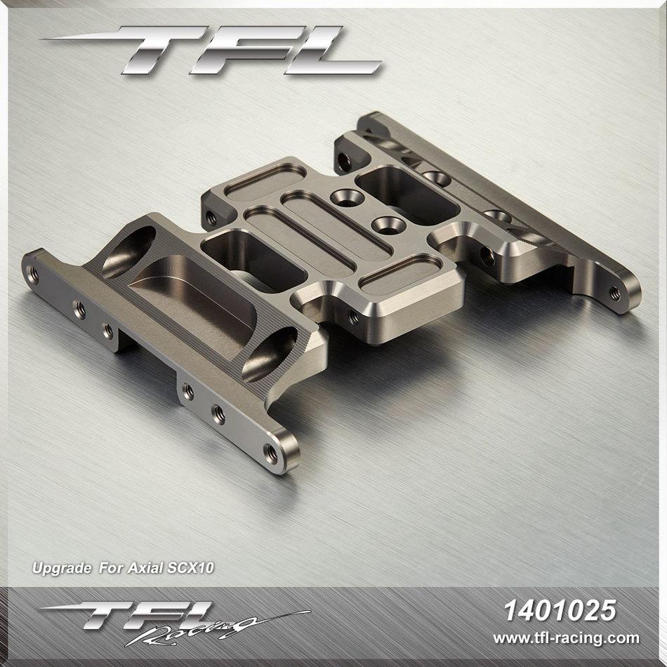 TFL AIXAL SCX 10 Special purpose CNC Metal Wave Box Base SCX 10 Aluminium Alloy Wave Box Base